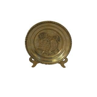 Vintage Charleston Brass Pineapple Plate