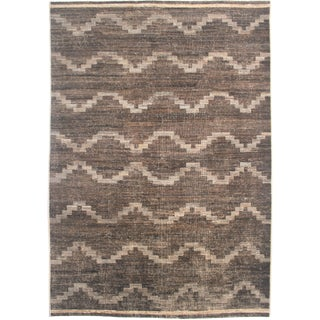 "Hand Knotted Navajo Rug - 12'3"" X 9'5"""