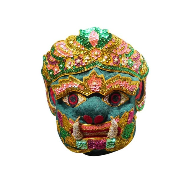 Vintage Thai Ceremonial Mask - Image 1 of 3