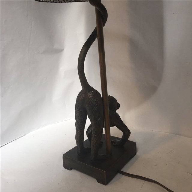 Monkey Business Table Lamp - Image 8 of 11