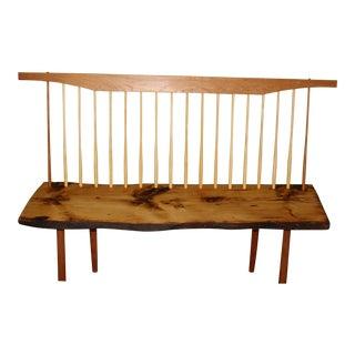 George Nakashima Inspired Bench