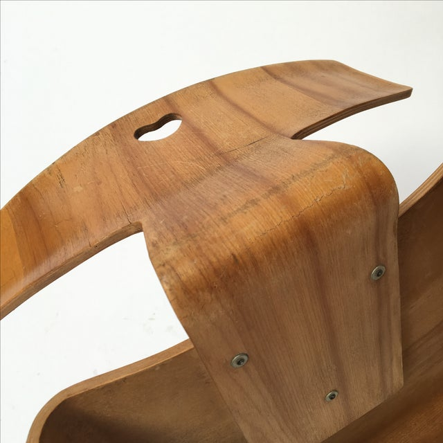 Image of Vintage Eames Molded Plywood Child Chair