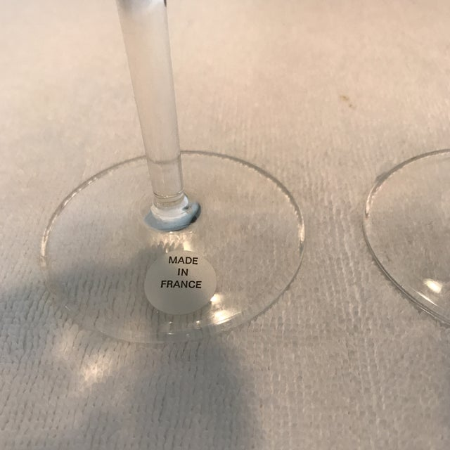 Perrier Jouet Champagne Flutes- A Pair - Image 4 of 10