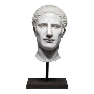 Hand Carved Italian Marble Bust