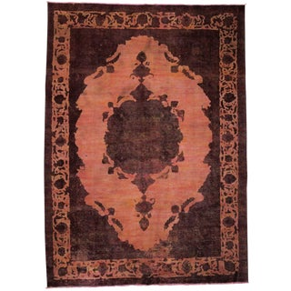 "Vintage, Hand Knotted Area Rug - 8' 3"" x 11' 4"""