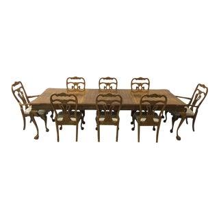 Century Yew Wood Dining Set
