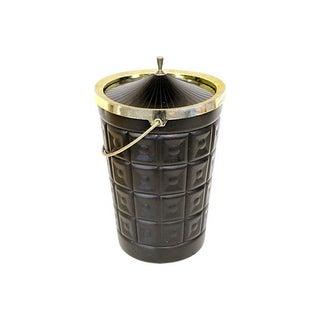 Black Lustroware Ice Bucket