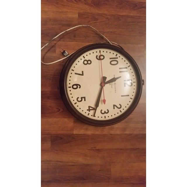 Image of Mid Century Ge Wall Clock