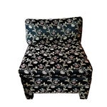 Image of Baughman Style Asian Inspired Slipper Chairs- A Pair