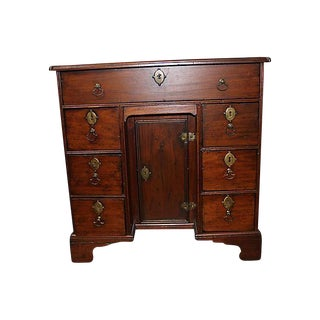 19th C. Queen Anne Kneehole Desk
