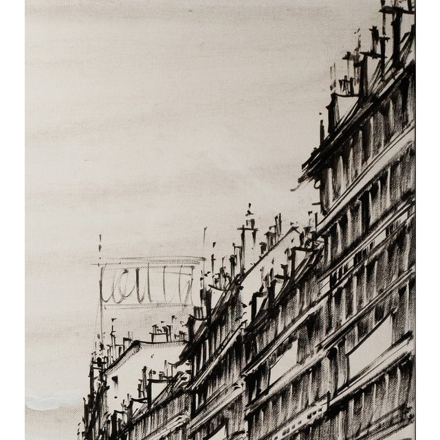 Champs-Elysées and the Arc De Triomphe, Grisaille - Image 3 of 6