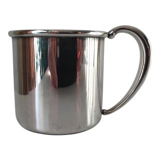 English Sterling Silver Christening Cup