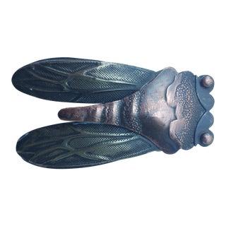 Bronze Cicada Inkwell