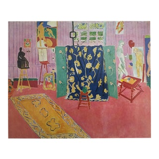 "Matisse Original Vintage 1973 Lithograph Print ""The Pink Studio L' Atelier Rose"", 1911"