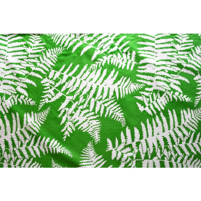Green Palm Springs-Style Fern Fabric - 2 Bolts - Image 3 of 3