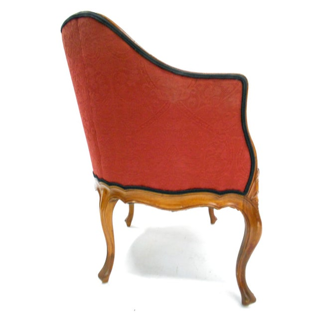 Early 20th Century Swedish Bergere Chair - Image 4 of 5