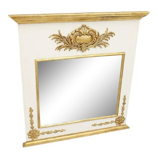 Gilt and Painted Italianette Mirror