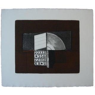 """Karl Kasten 1969 Modernist """"Arch"""" Print"""