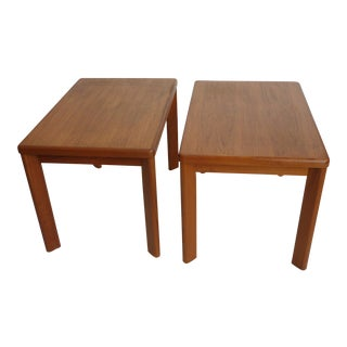Danish Modern Side Tables - a Pair