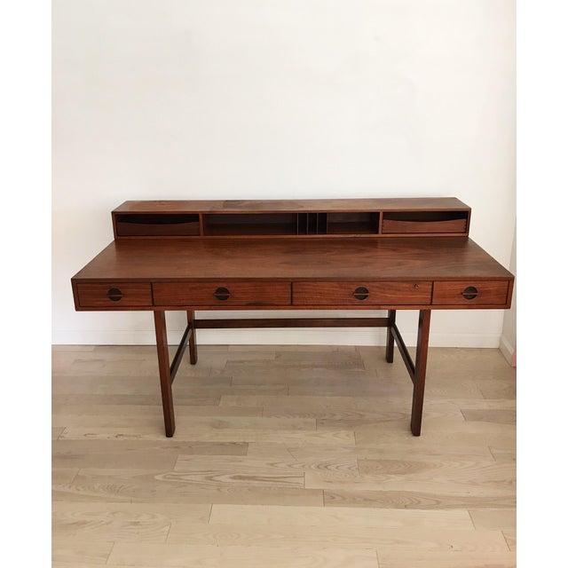 Peter Lovig Nielsen Rosewood Folding Dansk Danish Desk Circa 1965 - Image 2 of 11