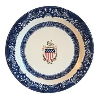 Vintage Patriotic Tin Plate 1988