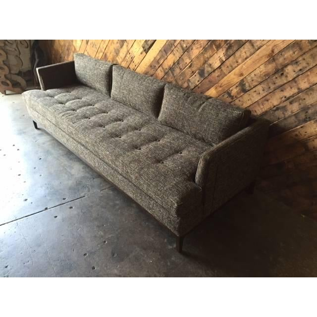Mid-Century-Style Custom Sofa - Image 6 of 6