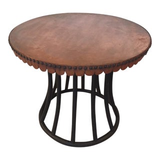 Merchandise Mart Copper Wrapped Table