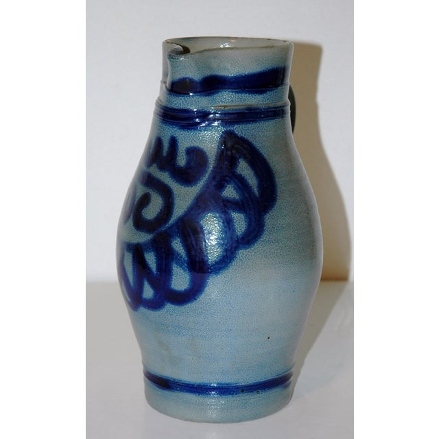 Image of Blue Cobalt Pitcher I