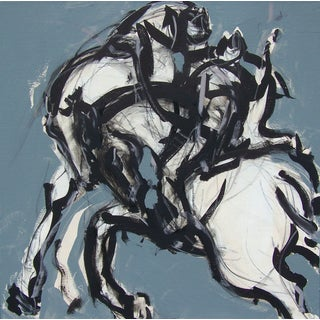 Polo Blue I Painting by Heidi Lanino