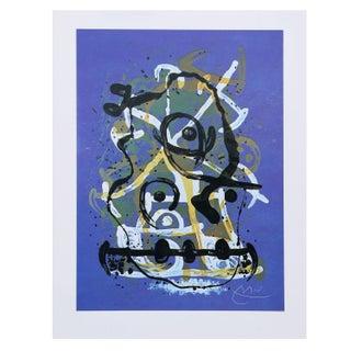 Joan Miro - Chevauchee Bleu Offset Lithograph
