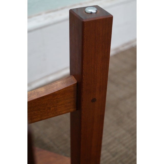 Stickley Mission Style Cherry Side Table (A) - Image 8 of 10