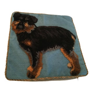 Yorkshire Terrier Plush Dog Pillow