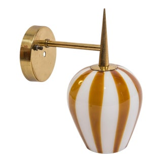 Venini Hand Blown Glass Sconce