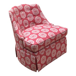Thibaut Brentwood Swivel Chair Showroom Sample