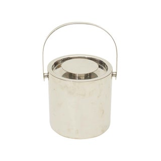 Silver Cocktail Ice Bucket With Lid
