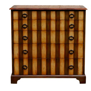 Theodore Alexander Striped Chest of Drawers