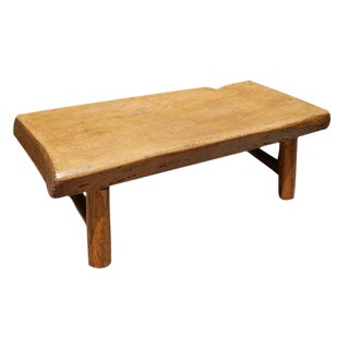 20th c. Chinese Plank-Top Table