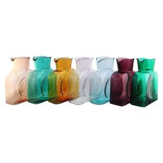 Blenko Glass Carafe Vase