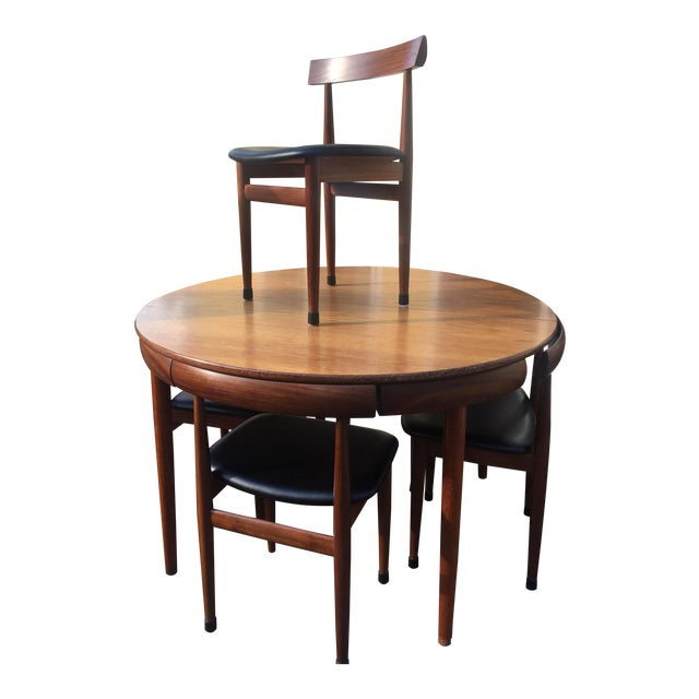 1960's Hans Olsen for Frem Rojle Dining Set - Image 1 of 11