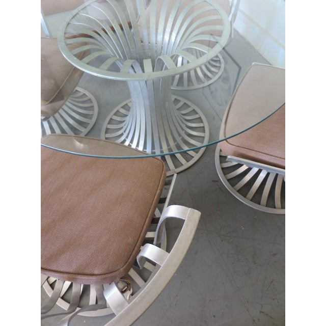 MidCentury Modern Russell Woodard Aluminum Patio Furniture A - Woodard aluminum patio furniture