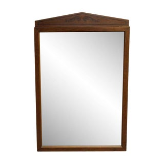 Wing Wooden Dresser Mirror