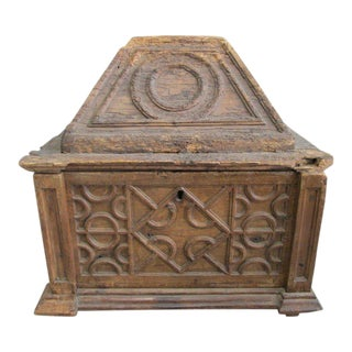 Early 18th Century Spanish Trunk