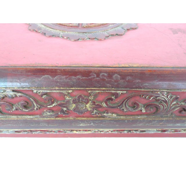 Image of Antique Chinese Scholar Boxes - A Pair