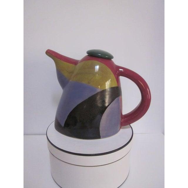 Image of Signed Chris Simoncelli Modernist Studio Teapot