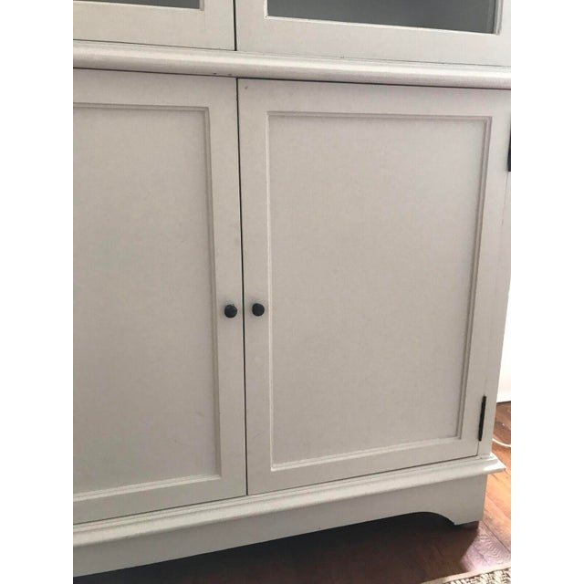 Tall Oly Swedish Style Glass Door Cabinet - Image 10 of 10