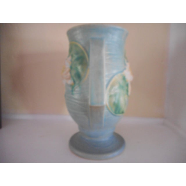 Roseville Pottery Water Lily Vase Chairish