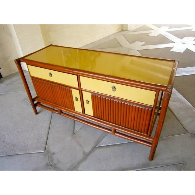 Mid-Century Asian-Style Sideboard - Image 5 of 5