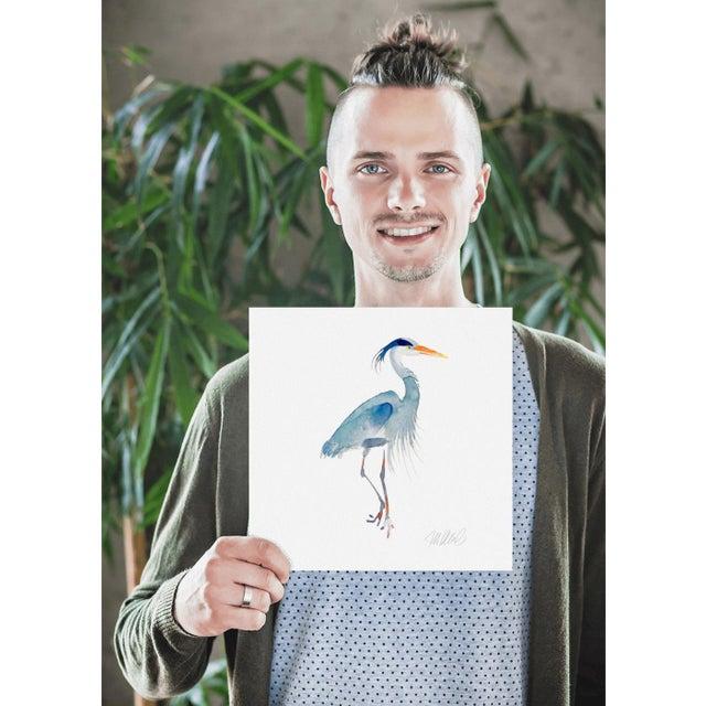 Blue Heron Print - Image 3 of 3