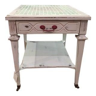 Shabby Chic Farmhouse Side Table