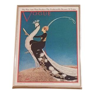 Original Condé Nast, Pres. Vogue Cover Print